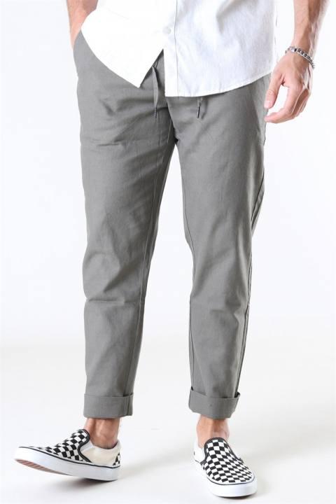 Clean Cut Barcelona Cotton Linen Pants Dusty Green