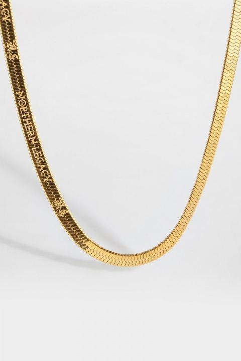 Northern Legacy Herringbone Halsband Gold