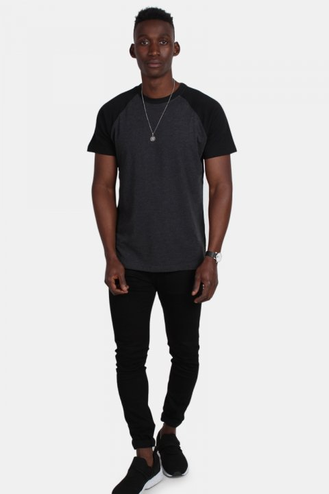 Klockaban Classics Tb639 T-shirt Charcoal/Black