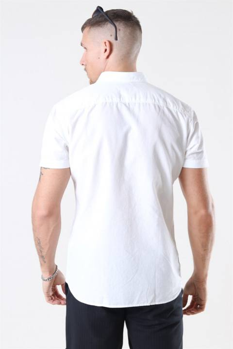 Jack & Jones Summer Skjorta S/S White
