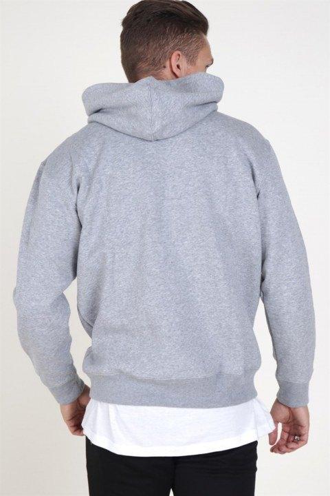 Jack & Jones Soft Sweat Hood Light Grey Melange
