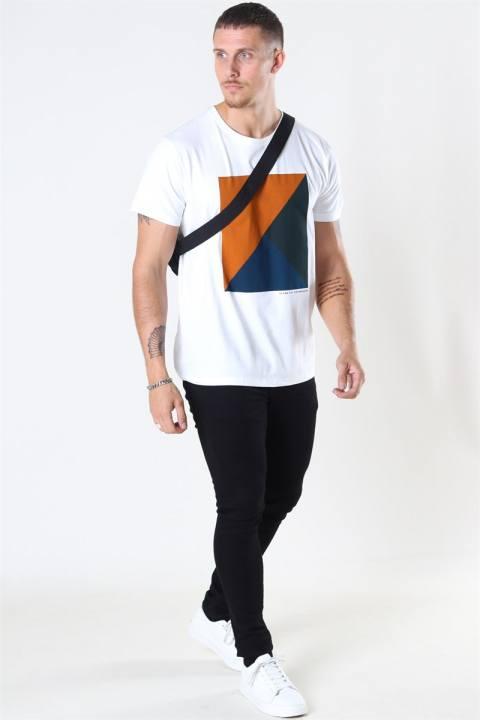 Clean Cut Riley Stretch T-shirt Dusty Orange