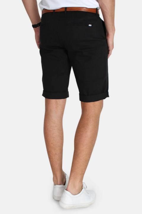 Kronstadt Jonas Stretch Shorts Stone Black
