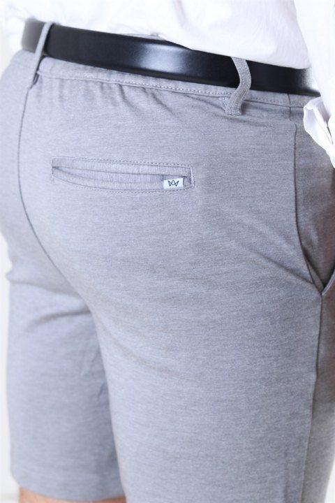 Kronstadt Club Pant Shorts Light Grey