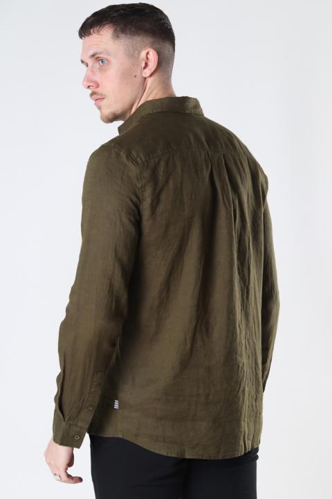 Tailored & Originals TOArmin LS Dark Olive