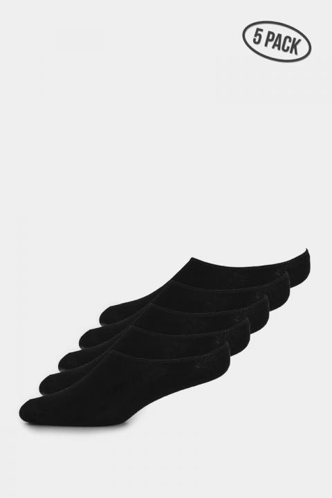 Liebhaveri Invisible Sock Black