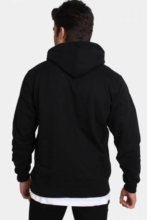 Basic Brand Hooded Tröja Black