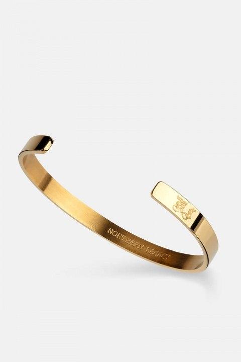 Northern Legacy SignatKlockae Bangle Gold