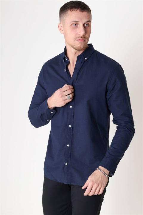 Jack & Jones Summer Skjorta L/S Navy Blazer