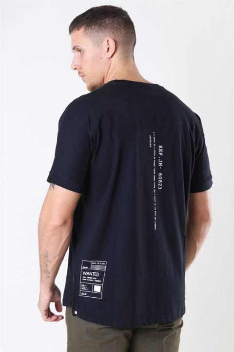 Solid Masum T-Shirt Black