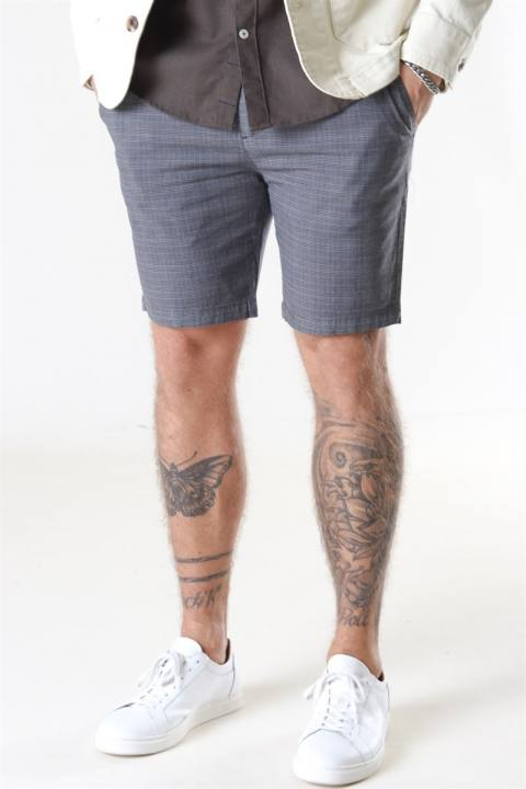 Kronstadt Hector Orleans Check Shorts Anthracite