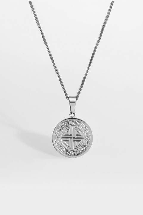 """Northern Legacy Knot Halsband """"Silver"""""""