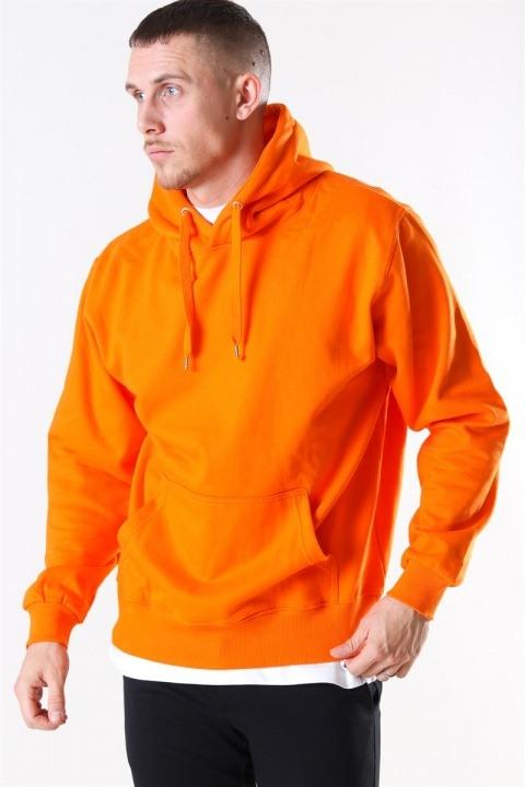 Basic Brand Hooded Tröja Orange