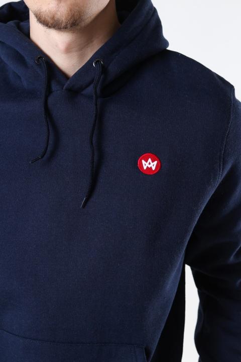 Kronstadt Lars Recycled cotton hood Navy