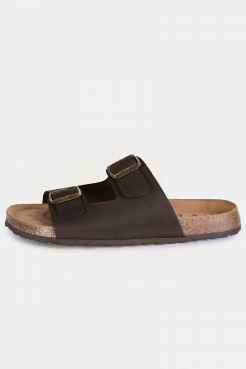 Image of LVL Alex Bio-Sandal Dark Brown (1555503310-40)