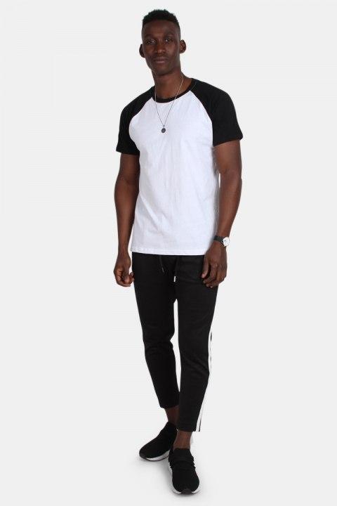 Klockaban Classics Tb639 T-shirt White/Black