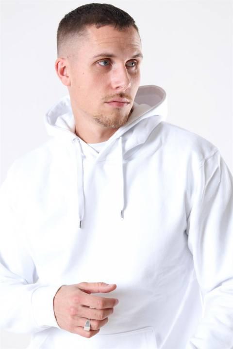 Basic Brand Hooded Tröja White