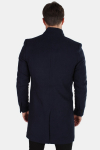 Only & Sons Maximilian Trench Coat Night Sky