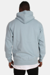 Basic Brand Hooded Tröja Dusty Blue