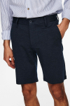 ONLY & SONS ONSMARK SHORTS MELANGE GW 8669 NOOS Dress Blues