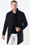Jack & Jones Collum Wool Coat Black