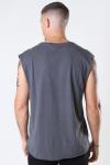 Klockaban Classics Open Edge Sleeveless T-shirt Dark Shadow