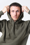 Basic Brand Hooded Sweat New Army