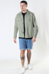 ONLY & SONS ONSKENNET LIFE LS LINEN OVERSHIRT NOOS Oil Green
