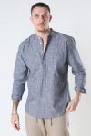 Clean Cut Copenhagen Rick Mao Shirt L/S Grey