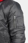 Klockaban Classics TB861 Basic Bomber jakke Cool Grey