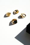 Northern Legacy Oversize Black Onyx Ringa Gold