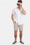 Only & Sons Caiden SS Linen Skjorta R White