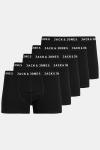 Jack & Jones Hatty 5-pack Trunks Black