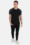 Klockaban Classics TB639 T-shirt Black/Charcoal