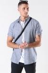Only & Sons Caiden S/S Linen Skjorta Dress Blues