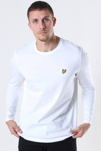 LS Crew Neck T-shirt White
