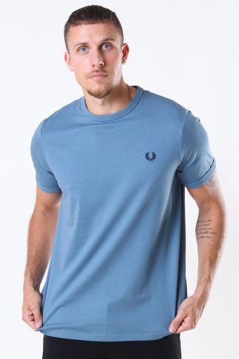 Ringaer T-Shirt Blue Estate