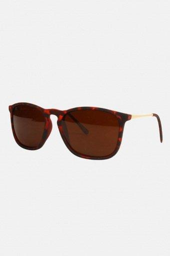 Fashion 1483 WFR  Brun Havana med Guldstänger Solbriller
