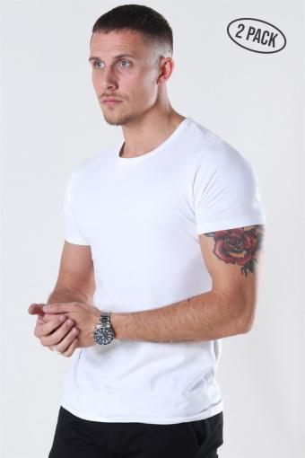 Muscle Fit T-shirt 2-Pack White
