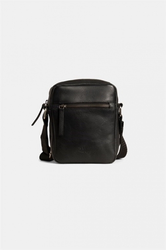 Clean Small Zip Messenger Väska Black