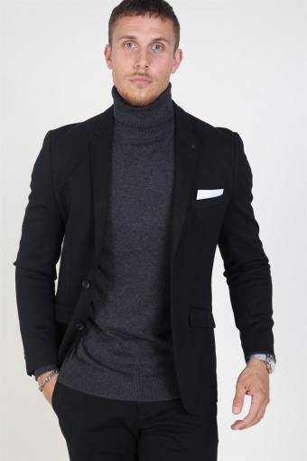 Daze Jersey Blazer Black