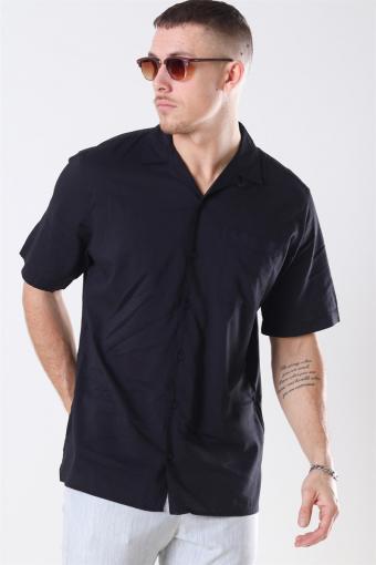 Jaden Skjorta S/S Black Tap Shoe