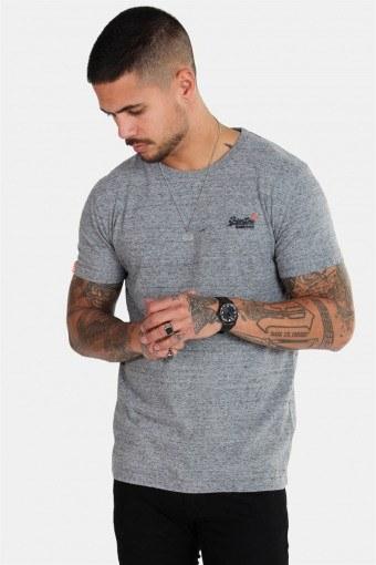 Orange Label Vintage Emb S/S T-shirt Flint Steel Grit
