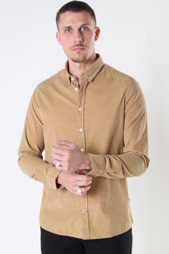 Johan Baby Corduroy shirt Sand