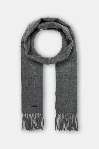 Carlo Scarf Medium Grey Melange