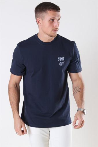 Kian T-shirt Dark Navy