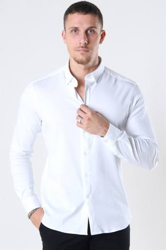 Mos Mosh Marco Jersey Skjorta White