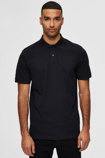 SLHNEO SS POLO S NOOS Black