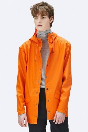 RegnJacka Fire Orange