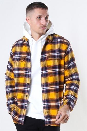 Jackson Worker Skjorta Golden Yellow